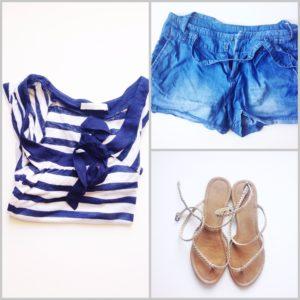 garderoba kapsulowa przykład lato