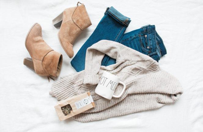 Garderoba kapsułowa na jesień dla minimalistki
