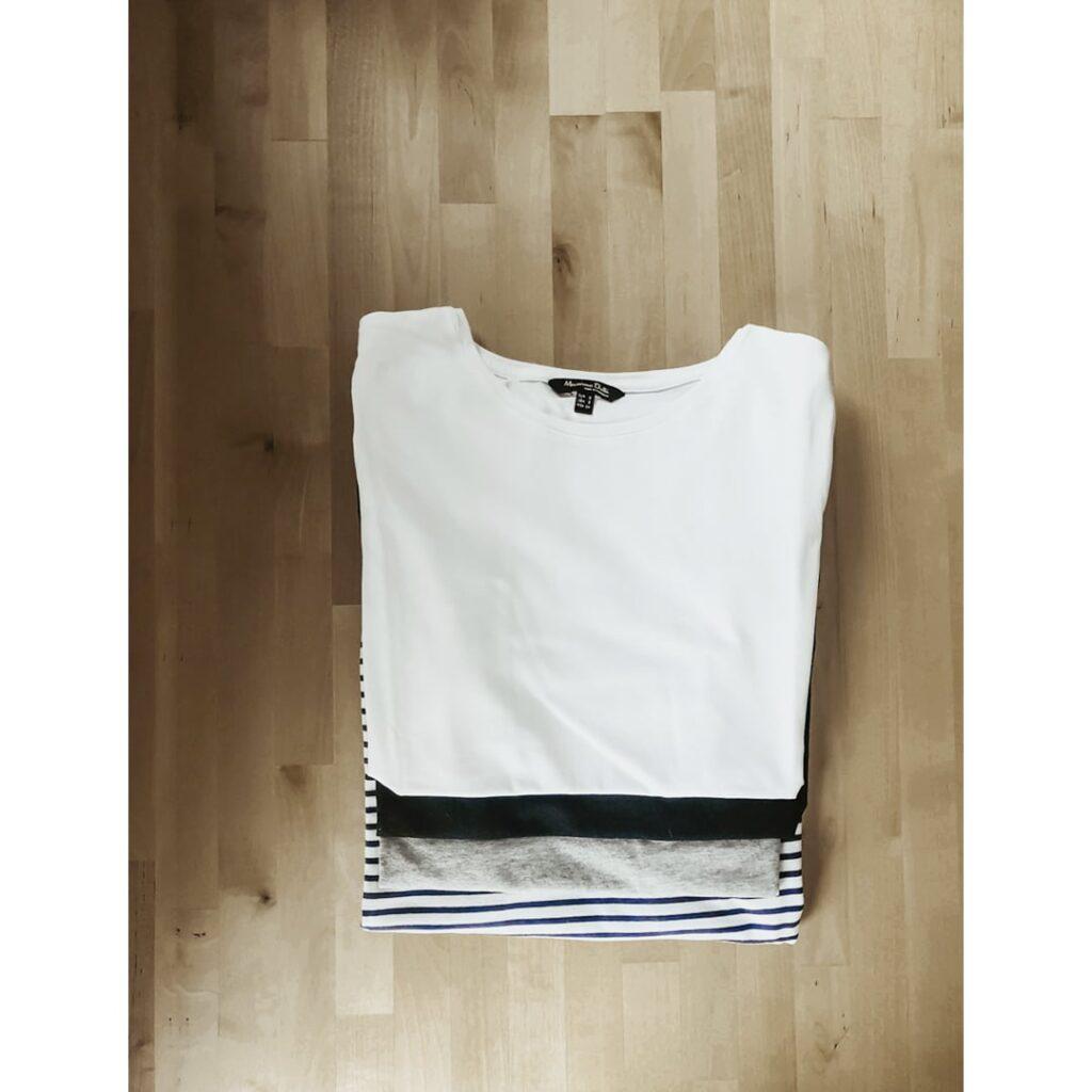 koszulki dla minimalistki